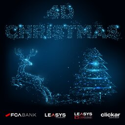 IT'S 4D CHRISTMAS TIME: FCA BANK AND LEASYS LIGHT IT UP WITH 4 SPECIAL DIGITAL OFFERS