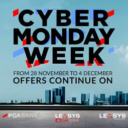 MOBILITY IS STILL THE PROTAGONIST OF FCA BANK CYBER MONDAY WEEK