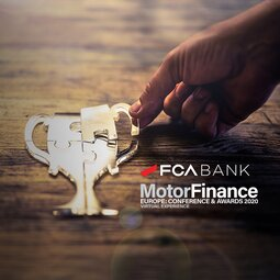 FCA Bank premiata ai Motor Finance Europe Awards 2020