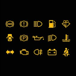 Car warning lights: how to read them and what to do