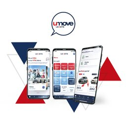 LEASYS UMOVE IS HERE. INTRODUCING THE NEW APP WITH ALL OF LEASYS'S MOBILITY SOLUTIONS