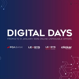 FCA BANK AND LEASYS LAUNCH THE DIGITAL DAYS