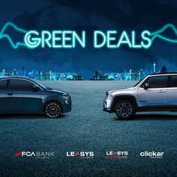 FCA BANK AND LEASYS LAUNCH THE GREEN DEALS