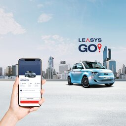EXPERIENCE CAR SHARING TO THE FULLEST WITH THE LEAYSGO! APP