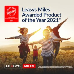 LEASYS MILES ELECTED PRODUCT OF THE YEAR  2021  IN THE CAR SERVICE CATEGORY