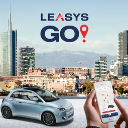LEASYSGO!, THE FIRST CAR SHARING DEDICATED TO THE NEW 500, IS COMING TO MILAN